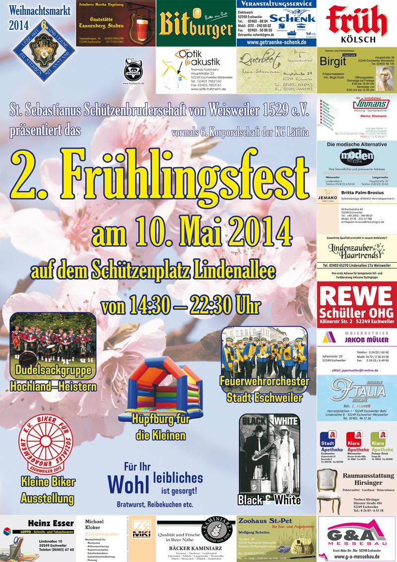Frühlingsfest Weisweiler 2014